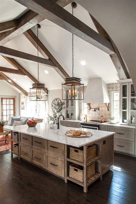 Seven Farmhouse Kitchen Designs  Hallstrom Home
