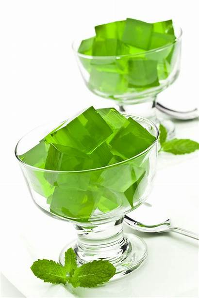 Gelatin Ingredients Cubes Cup Pig Clear Jelly