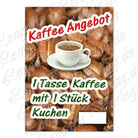 Kuchen Angebote 2 by Bestand Affiche Koffie En Koek In De Duitse Taal