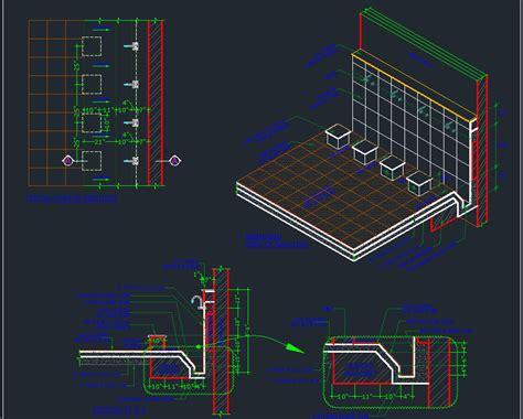 ablution area detail designs cad