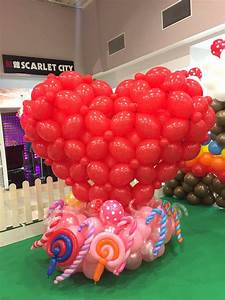 Heart Shape Balloon Display THAT Balloons