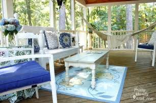 porch makeover porch decorating screen porch decorating