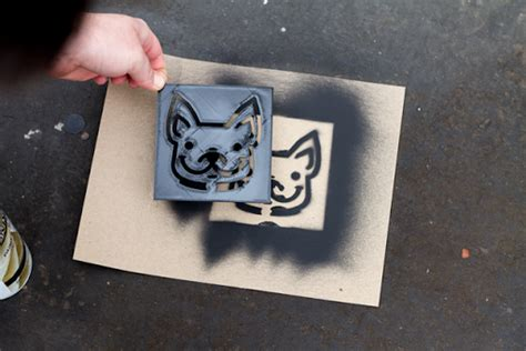 Convert Image Templates Graffiti by How To Create And 3d Print A Custom Stencil Matterhackers