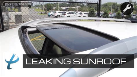 2010 lexus es sunroof switch repair instructions how to prevent a leaking sunroof sunroof repair youtube