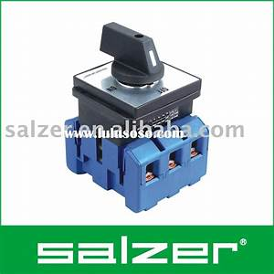 Salzer Rotary Switch  Ce Certified  For Sale