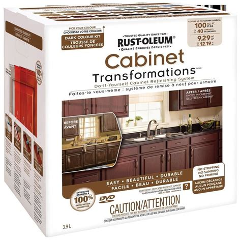 diy kitchen cabinets less than 250 dio home improvements rust oleum exterior gloss dark cabinet transformation kit