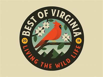 Badges Round Virginia Rounded Badge Save Visual