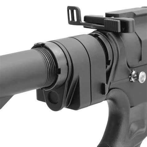 TacFire TFFSAD Folding Stock Adapter for AR15/AR10 7075 ...