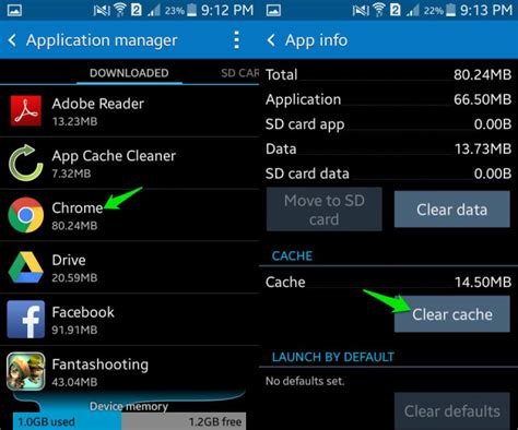 how to clear cache on android phone how to clear android cache ubergizmo