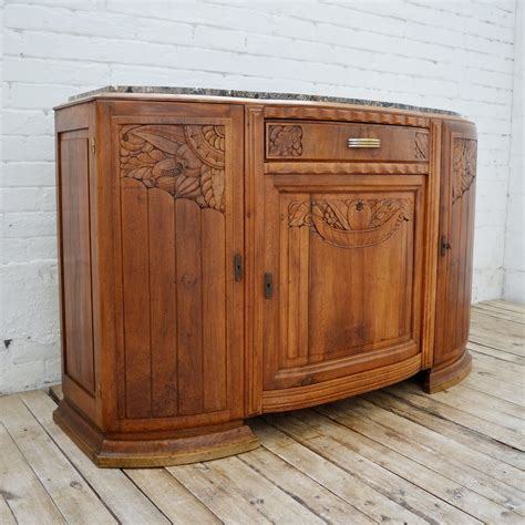 Deco Sideboard by Deco Walnut Sideboard Cupboard With Marble