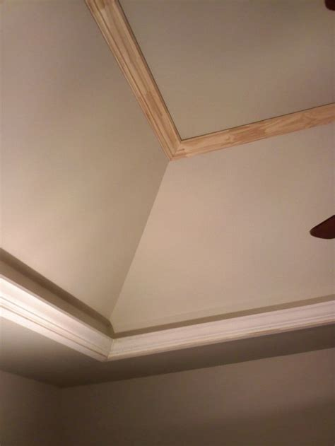 Tray Ceiling Crown Molding by 8 Best Moulding On Sloped Ceiling Images On