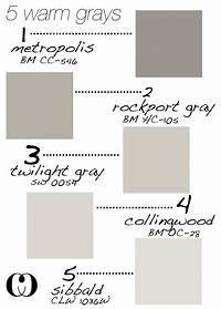 warm grey paint color Interior and Home Exterior Paint Color Ideas - Home Bunch ...