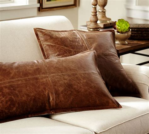 Pottery Barn Sofa Pillows by Hometalk Diy Pillow Faux Leather Pottery Barn Knock