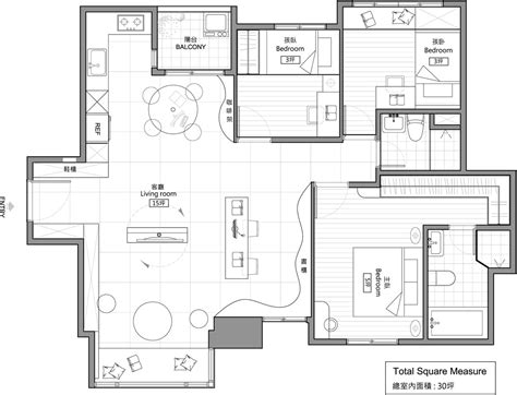 modern floor plans nature inspired details shaping modern family apartment in
