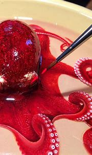 Incredible Life-Like Octopus Painted in Layers of Resin by ...
