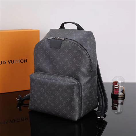 replica men lv louis vuitton monogram apollo backpack  bag handbag gray lv