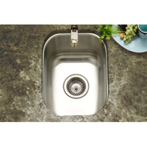 bar sinks at menards club undermount small bar prep sink 7 quot 18ga satin