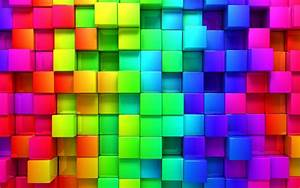 Colorful 3D Background Wallpaper - HD Wallpapers