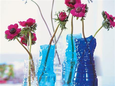 vasi per fiori in plastica fai da te riciclare plastica per vasi di fiori donna