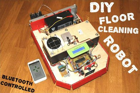 cleanbot your diy floor cleaning robot pictures of