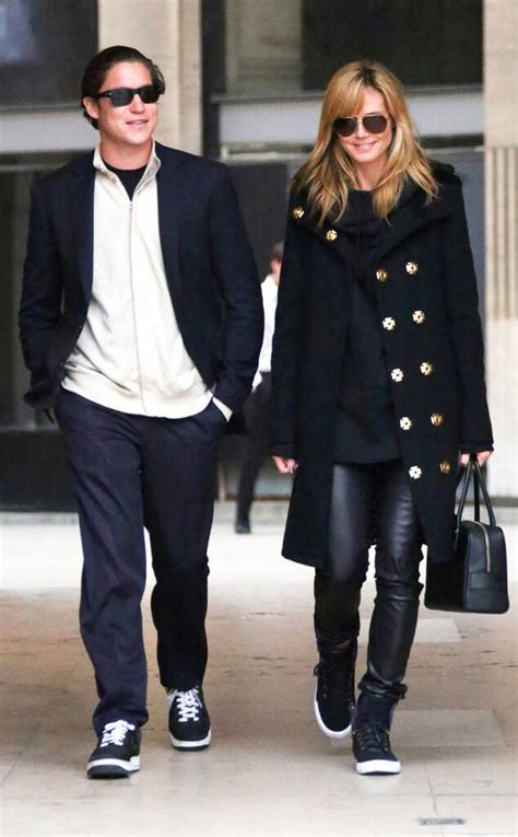 Heidi Klum Boyfriend Vito Schnabel Are All Smiles
