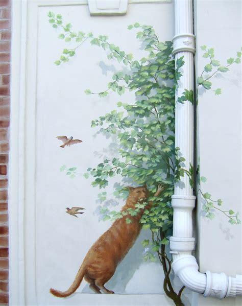 trompe l oeil mural exterieur atlub