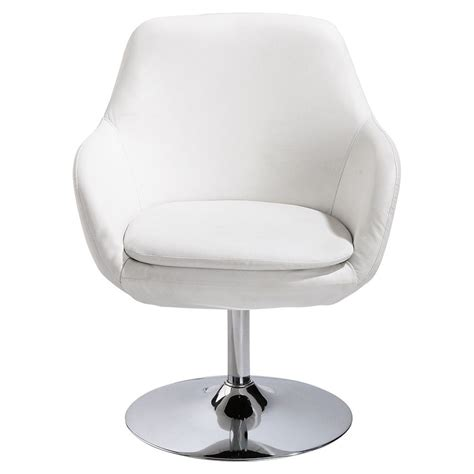 fauteuil en polyur 233 thane blanc ginko maisons du monde