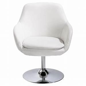 Fauteuil Crapaud Maison Du Monde : fauteuil en polyur thane blanc ginko maisons du monde ~ Melissatoandfro.com Idées de Décoration