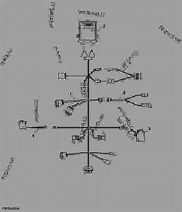 Wiring Harness  Ecu  Autotrac U2122  Caseih Steiger
