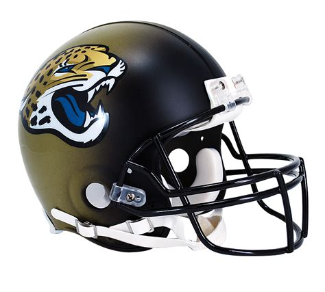 Jacksonville Jaguars Vsr4 Authentic Helmet Jacksonville
