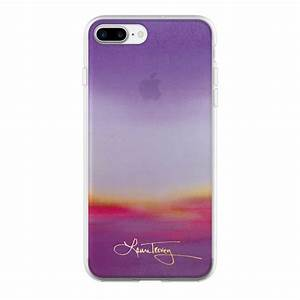 Purple Ombre Laura Trevey iPhone7 Case Spring Collection