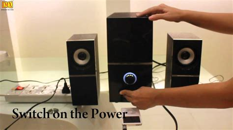 connect ipodmp player  pc speakers youtube