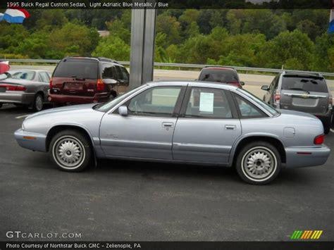 1995 Buick Regal Custom by 1995 Buick Regal Custom Sedan In Light Adriatic Blue