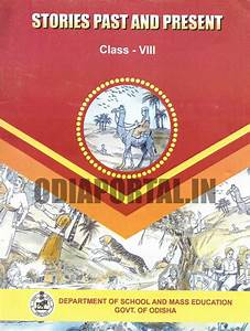 Odisha Class Viii - English  U0026quot Stories Past And Present U0026quot  - 2017 New Edition