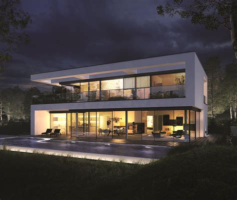 Fertighaeuser Im Bauhaus Stil by Okal Planungsvorschlag Villa Im Bauhausstil Fertighaus