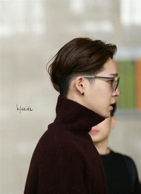 artis korea pria berambut pendek  model rambut pendek