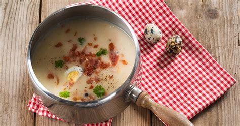 cuisine polonaise traditionnelle cuisine polonaise żurek soupe pascale traditionnelle