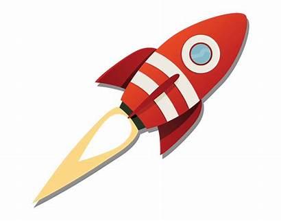 Rocket Launch Clipart Cartoon Clip Rocketship Transparent