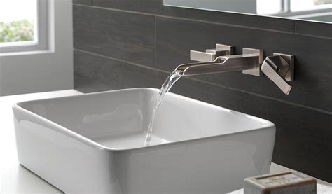 small bathroom sink ideas how a wall mount faucet can transform your bathroom wall