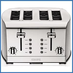 best 4 slot toaster best 4 slice toasters in 2019 reviews