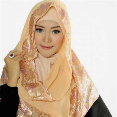 foto jilbab pashmina chiffon georgette shawl foto  dreamcoid