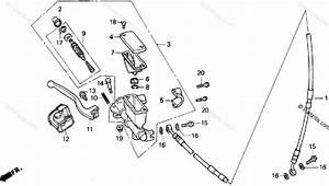 Honda Motorcycle 1995 Oem Parts Diagram For Fr  Brake