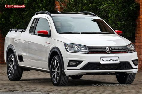 Volkswagen Saveiro Pepper 16 Ce 2018  Ficha Técnica