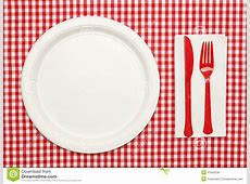 Picnic Place Setting Clipart