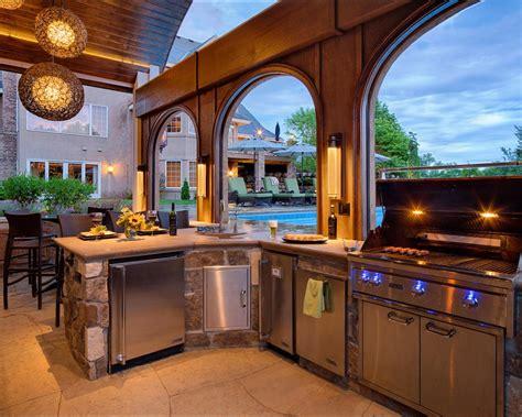 gorgeous outdoor kitchens hgtvs decorating design