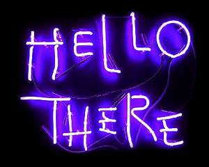 Hell Here Neon Sign from Batman Returns