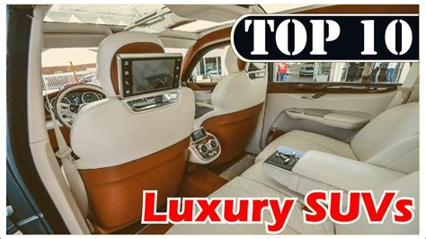 Top 10 Luxury Suv Cars In The World 2017