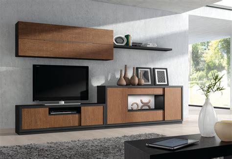 buffet cuisine design ensemble de meubles tv modernes chne marron et noir