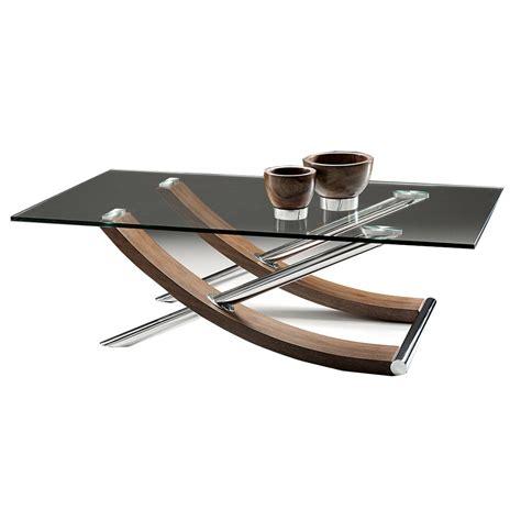 Couchtisch Glas Rechteckig by Nord Strand Rectangular Glass Coffee Table Walnut