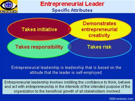 entrepreneurial leadership ten mini